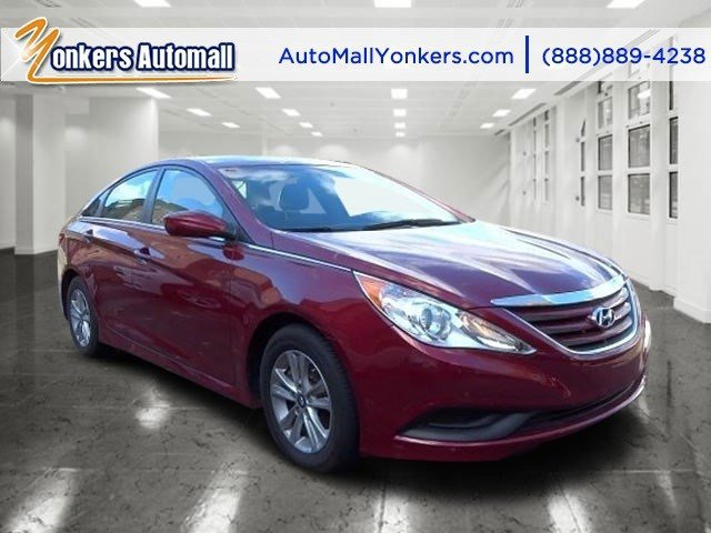 2014 Hyundai Sonata GLS Venetian Red MetallicGray V4 24 L Automatic 41677 miles 1 owner 201