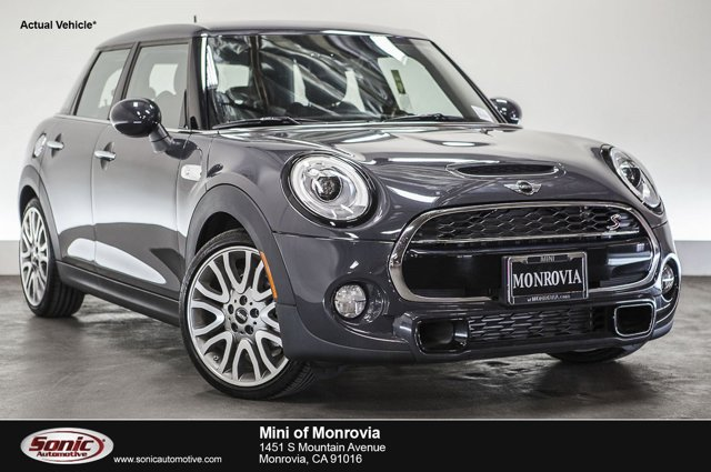 2016 MINI Cooper Hardtop 4 Door S Thunder Gray MetallicCarbon Black V4 20 L Automatic 0 miles
