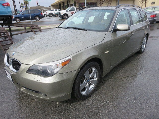 2006 BMW 5 Series 530xi Olivin GreenBeige V6 30L Automatic 78590 miles NEW ARRIVAL 1-OWNER L