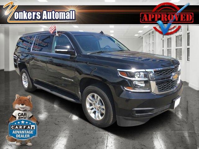 2016 Chevrolet Suburban LT BlackJet Black V8 53L Automatic 14411 miles Bold and beautiful th