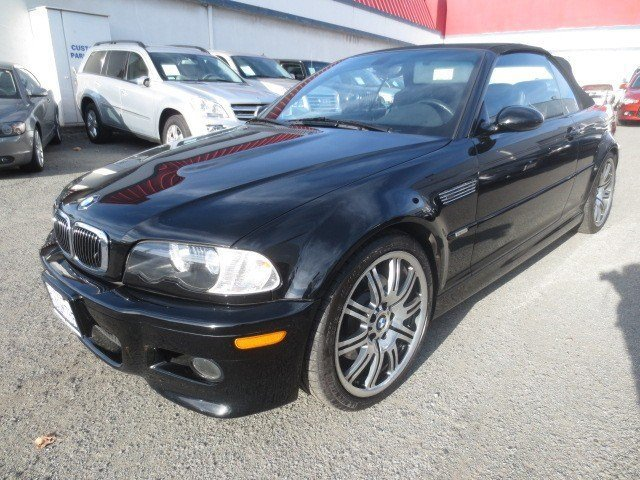 2003 BMW 3 Series M3 Convertible Carbon Black MetallicBlack V6 32 Manual 62945 miles NEW ARRIV