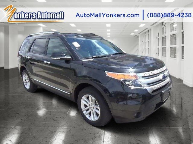 2013 Ford Explorer XLT Tuxedo Black MetallicCharcoal Black V6 35L Automatic 45096 miles Navig