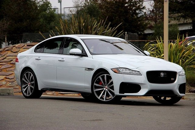 2016 Jaguar XF S GLACIER WHITELT OYSTERJET V6 30 L Automatic 10 miles Boasts 28 Highway MPG