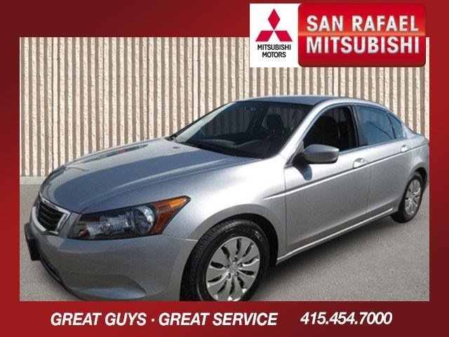 2009 Honda Accord Sdn LX Alabaster Silver MetallicBlack V4 24L Automatic 112723 miles Local Tr
