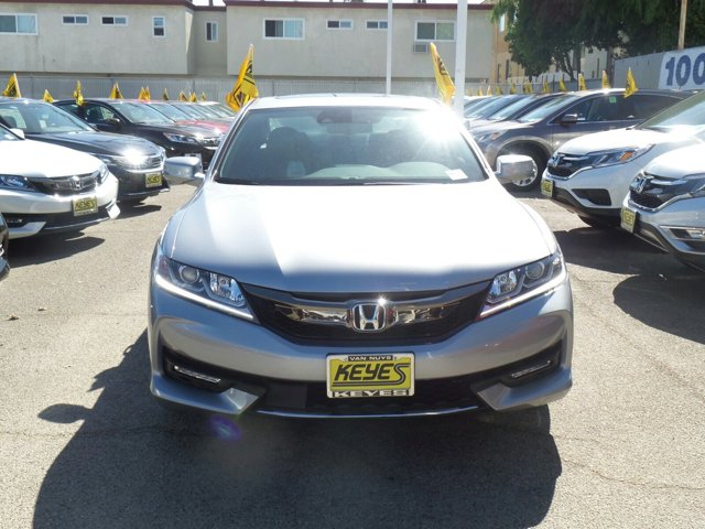 2017 Honda Accord Coupe EX-L V6 Lunar Silver MetallicBLK LEATHER-TRIM V6 35 L Automatic 8 mile