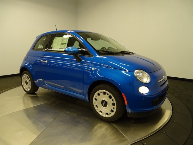 2016 FIAT 500 Pop Laser Blu Bright Met BlueA7X9 V4 14 L Manual 0 miles Buy it Try it Lov
