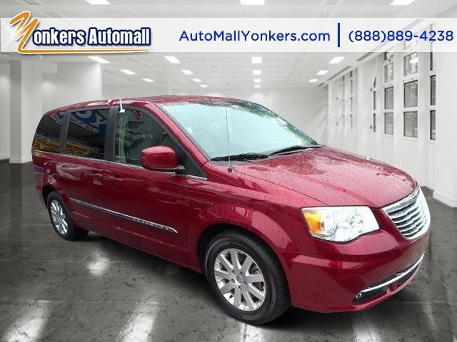 2014 Chrysler Town  Country Touring Deep Cherry Red Crystal PearlcoatBlack V6 36 L Automatic