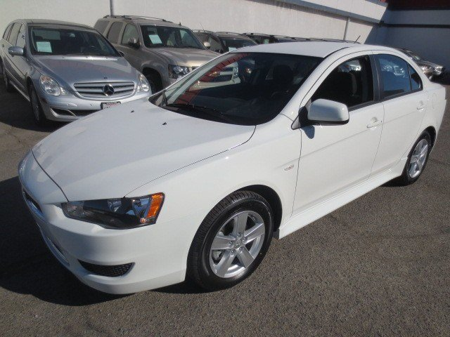 2014 Mitsubishi Lancer SE Wicked WhiteBlack V4 24 L Automatic 5 miles They are Here The ALL N