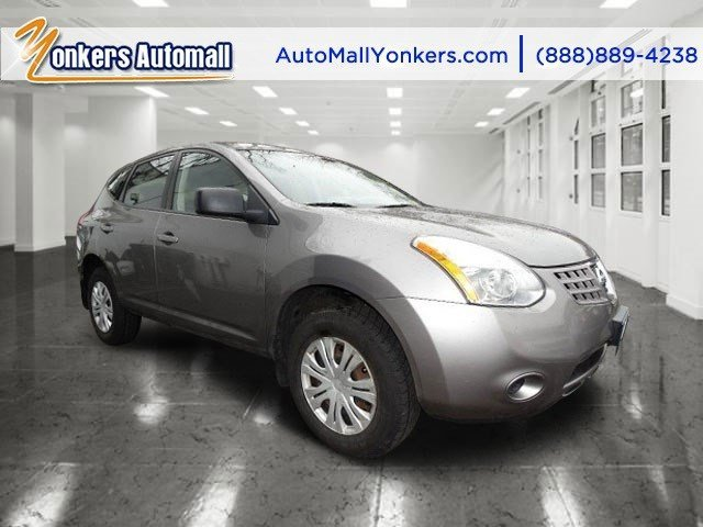 2009 Nissan Rogue S Gotham GrayBlack V4 25L Variable 80309 miles  BLACK SEAT TRIM  GOTHAM GR