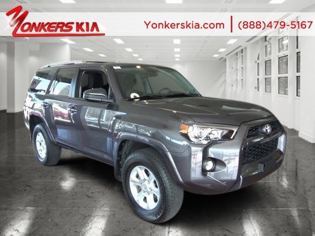 2014 Toyota 4Runner Nautical Blue PearlBlack V6 40 L Automatic 6436 miles Navigation rear ca