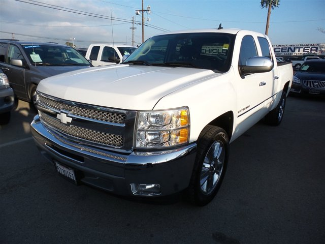 2012 Chevrolet Silverado 1500 LT WhiteWHITE V8 53L Automatic 114279 miles Deal PendingChoo