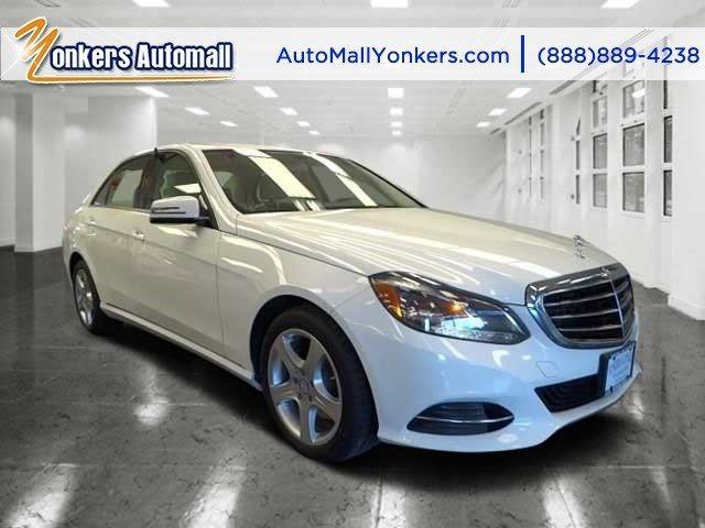 2014 Mercedes E-Class E350 Luxury Polar WhiteSilk BeigeEspresso Brown V6 35 L Automatic 40337