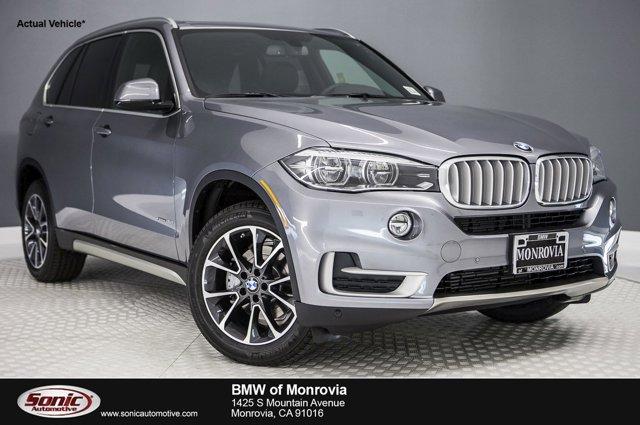 2017 BMW X5 sDrive35i Space Gray MetallicBlack V6 30 L Automatic 0 miles You wont want to mi
