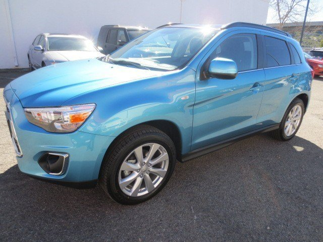 2013 Mitsubishi Outlander Sport SE Laguna BlueBlack V4 20L Automatic 5 miles The 2013 Mitsubis