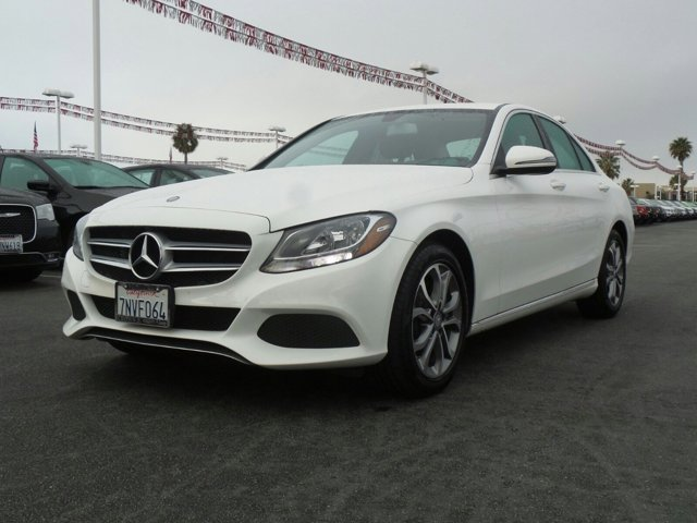 2016 Mercedes C-Class C300 Luxury Polar White V4 20 L Automatic 36968 miles  Turbocharged  R