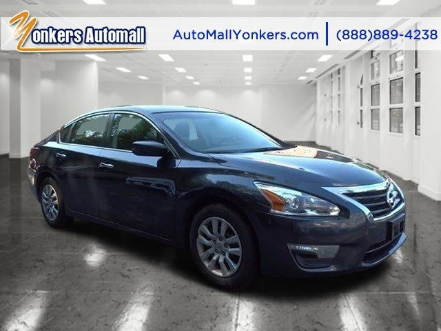 2013 Nissan Altima 25 Metallic SlateCharcoal V4 25L Automatic 45685 miles Yonkers Auto Mall