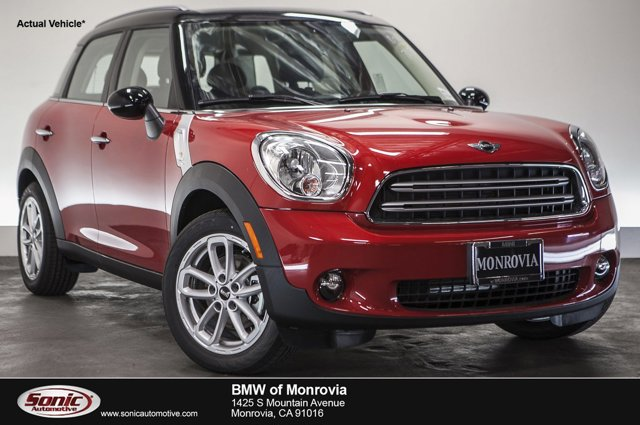 2016 MINI Cooper Countryman FWD 4dr Blazing Red MetallicCarbon Black V4 16 L Automatic 0 miles