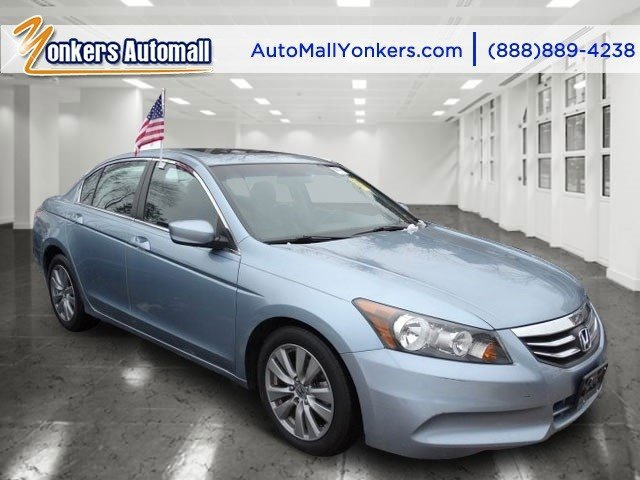 2012 Honda Accord Sdn EX-L Celestial Blue MetallicBlack V4 24L Automatic 47013 miles 1 owner