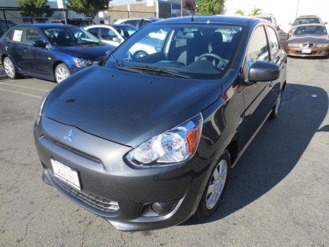 2014 Mitsubishi Mirage DE Thunder GrayBlack V3 12 L Manual 30 miles The ALL NEW 2014 Mitsubish