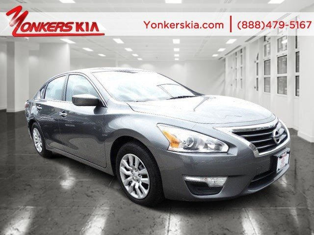 2015 Nissan Altima 25 S Gun MetallicCharcoal V4 25 L Variable 39983 miles Yonkers Kia is the