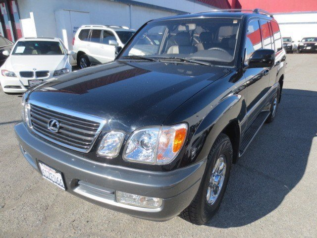 1999 Lexus LX 470 Luxury SUV Black OnyxGray V8 47L Automatic 122149 miles LOCAL TRADE 1999 Le