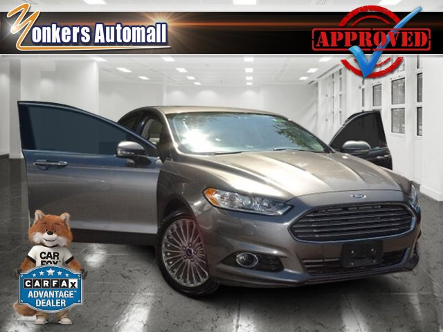 2014 Ford Fusion Titanium Sterling Gray MetallicCharcoal Black V4 20 L Automatic 39187 miles