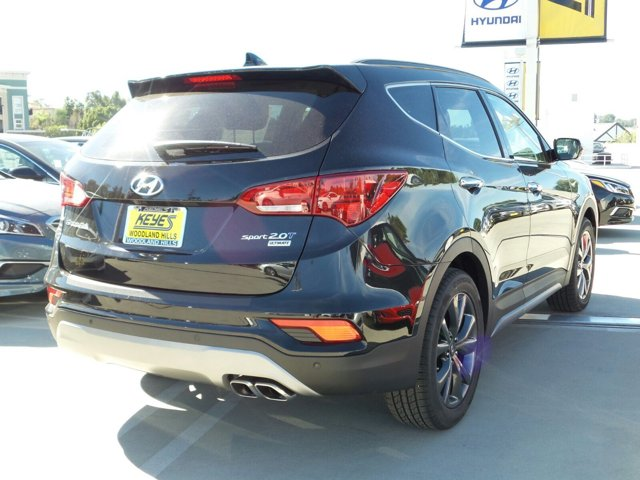 2017 Hyundai Santa Fe Sport 20T Ultimate BlackGray V4 20 L Automatic 14 miles Woodland Hills