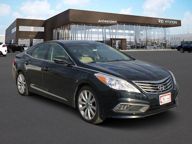 2016 Hyundai Azera Limited Eclipse BlackCamel V6 33 L Automatic 6467 miles  CF  CN  CT  FK
