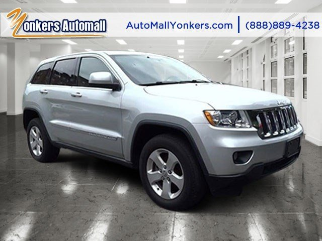 2011 Jeep Grand Cherokee Laredo Bright Silver MetallicBlack Interior V6 36L Automatic 43586 mi