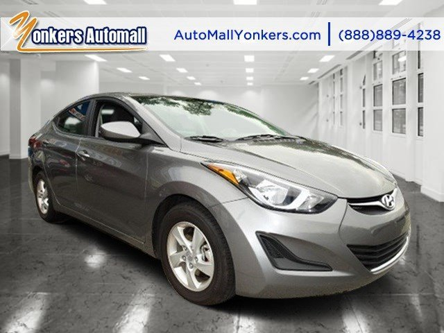 2014 Hyundai Elantra SE Harbor Gray MetallicGray V4 18 L Automatic 36660 miles 1 owner clean