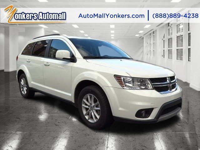 2014 Dodge Journey SXT WhiteBlack V6 36 L Automatic 39265 miles 1 owner clean carfax 3rd r