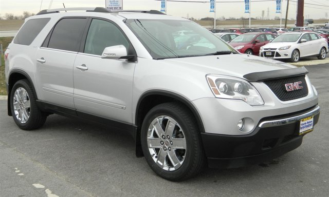 2010 GMC Acadia SLT2 SilverBlack V6 36L Automatic 40741 miles This 2010 GMC Acadia is the fami