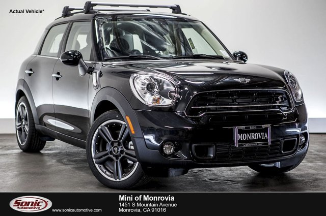 2016 MINI Cooper Countryman S Absolute Black MetallicCarbon Black V4 16 L Automatic 0 miles