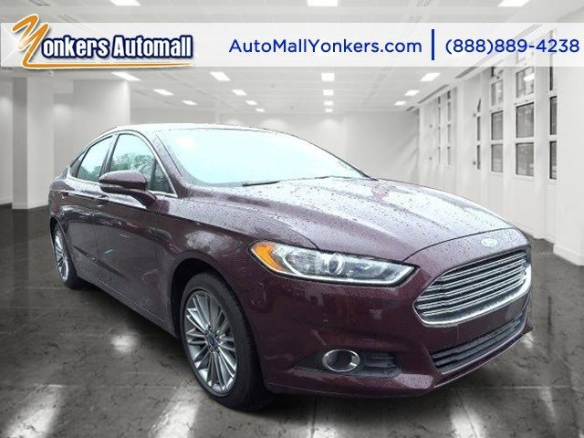 2013 Ford Fusion SE Ruby Red Metallic Tinted ClearcoatCharcoal Black V4 16L Automatic 44857 mi