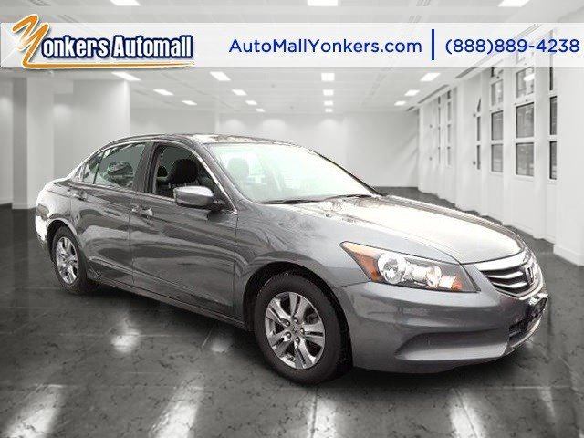 2012 Honda Accord Sdn SE Alabaster Silver MetallicBlack V4 24L Automatic 42694 miles Yonkers A