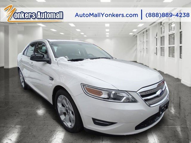 2012 Ford Taurus SEL White SuedeCharcoal Black V6 35L Automatic 46217 miles 1 owner clean car