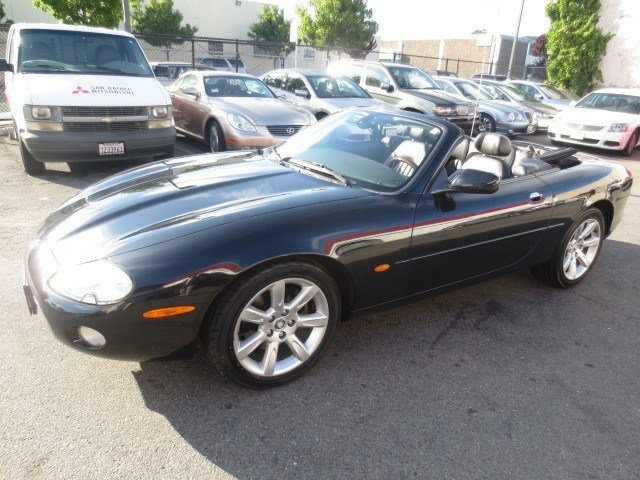 2003 Jaguar XK8 Convertible EbonyCharcoal V8 42L Automatic 50746 miles This Car is A MUST SEE