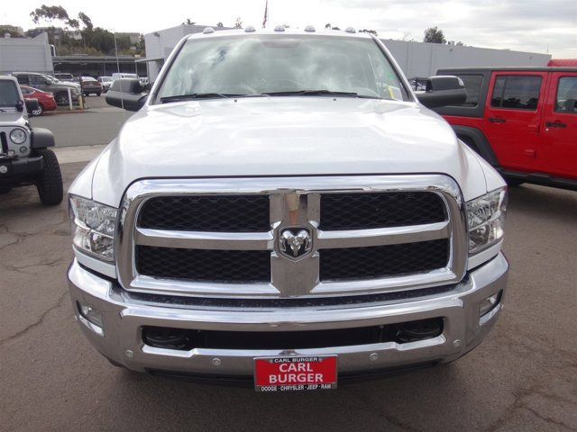 2017 Ram 3500 Chassis Cab C BRIGHT WHITE CL V6 67 L Automatic 2 miles Perhaps the most remark