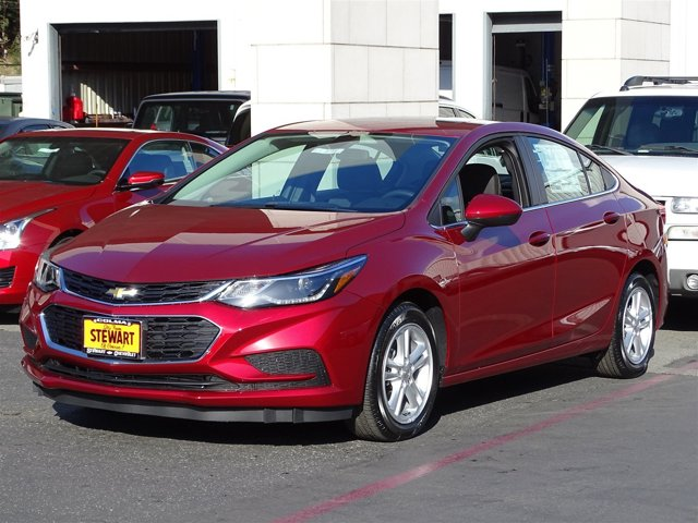2017 Chevrolet Cruze LT Cajun Red TintcoatJet Black V4 14L Automatic 0 miles  SUN AND SOUND P