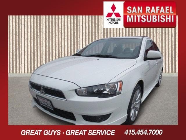 2010 Mitsubishi Lancer GTS Wicked WhiteBlack V4 24L Automatic 61286 miles 1-Owner This 2010 M