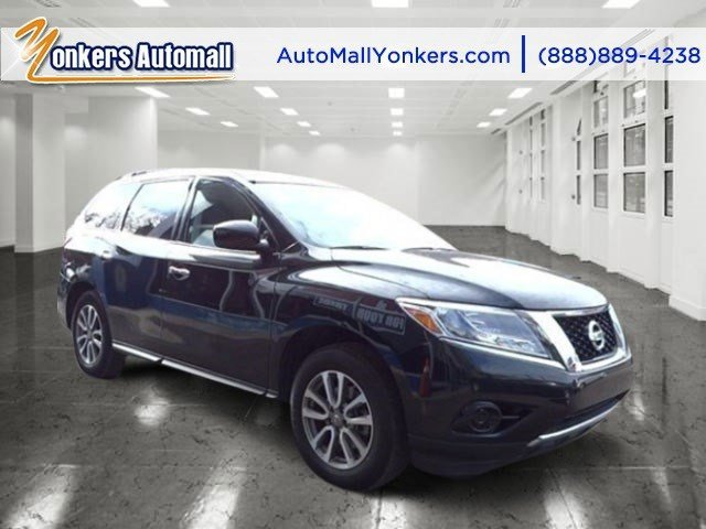 2013 Nissan Pathfinder SV Super BlackBlack V6 35L Automatic 40313 miles  All Wheel Drive  Tow