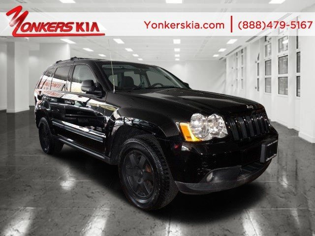 2008 Jeep Grand Cherokee Laredo Brilliant Blk Crystal PearlDark Slate Gray V6 37L Automatic 81