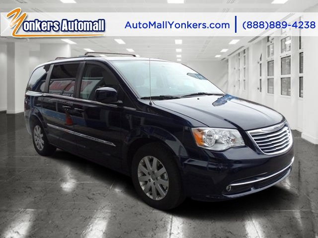 2016 Chrysler Town  Country Touring Crystal Blue PearlcoatBlackLight Graystone V6 36 L Automa