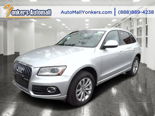 2013 Audi Q5 Premium Plus Ice Silver MetallicBlack V4 20L Automatic 34854 miles Fully loaded