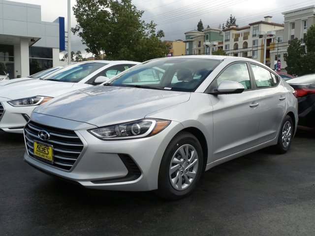 2017 Hyundai Elantra SE Silver V4 20 L Manual 12 miles Woodland Hills Hyundai come and see o