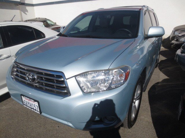 2008 Toyota Highlander Limited Light BlueAsh V6 35L Automatic 64049 miles NEW ARRIVAL LOW MIL