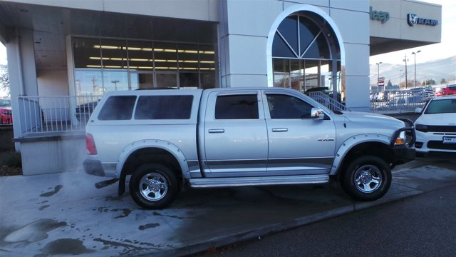 2009 Dodge Ram 1500 Silver V8 47L Automatic 52490 miles  Four Wheel Drive  Power Steering
