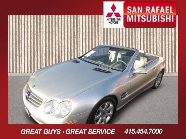 2003 Mercedes SL-Class SL500 Roadster Brilliant Silver MetallicAshDark Ash V8 50L Automatic 53