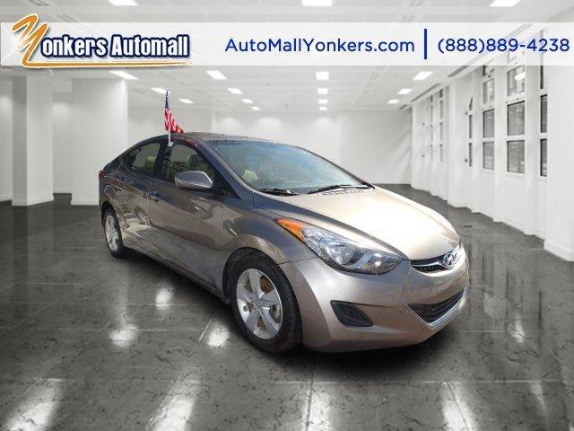 2013 Hyundai Elantra GLS Harbor Gray MetallicBeige V4 18L Automatic 39311 miles 1 owner clean