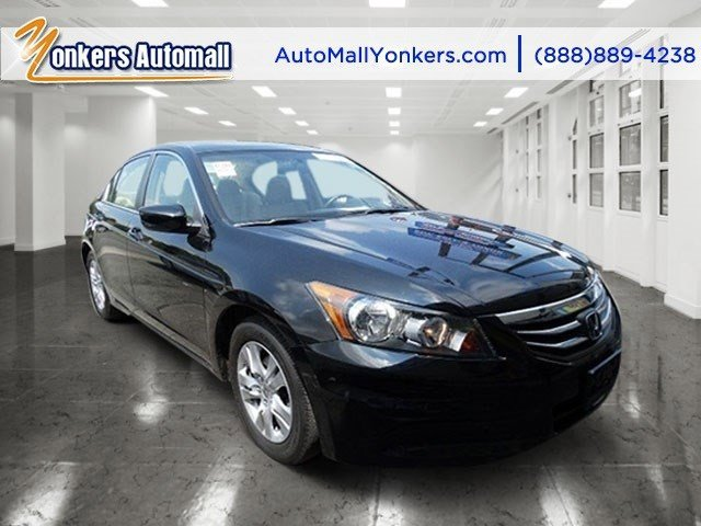 2012 Honda Accord Sdn SE Crystal Black PearlIvory V4 24L Automatic 44984 miles 1 owner clean